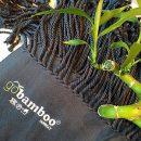 Blått silkemykt og varmt bambuspledd