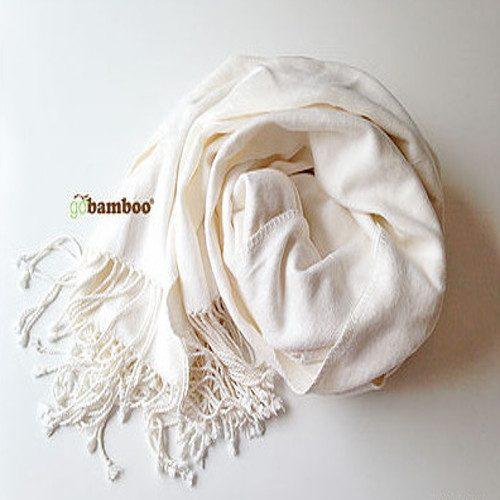 Stort Silkemykt og Varmt Bambuspledd (Mørkeblått)