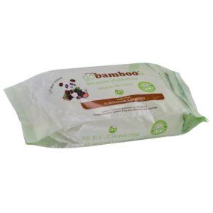 Bambus Økologiske Våtservietter
