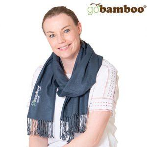 Go Bamboo Bambus Skjerf