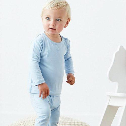 Baby Pull on Shorts Light Light Blue