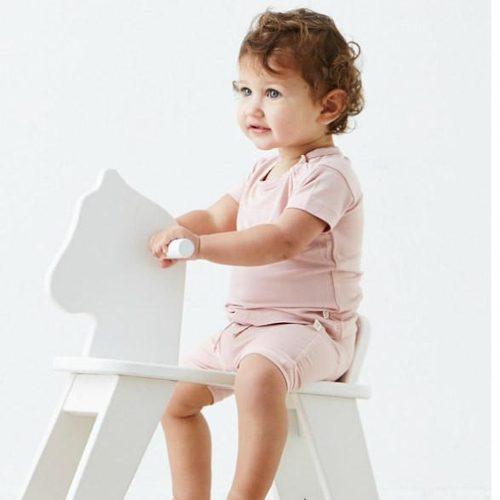 Baby Pull on Shorts Light Pink