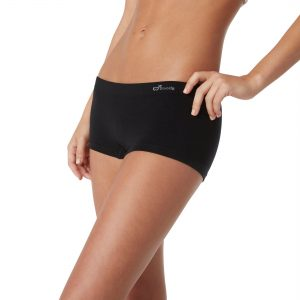 Black Boyleg Brief for Women