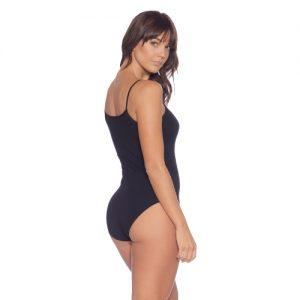 Black Camisole Bodysuit