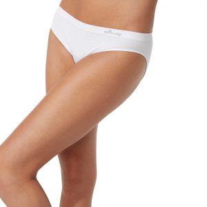 Womens White Classic Bikini