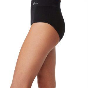 Black Full Brief Underwear for Women