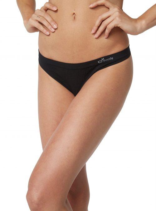 Black G String Underwear