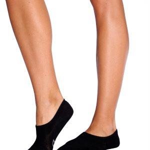 Womens Hidden Socks in Black