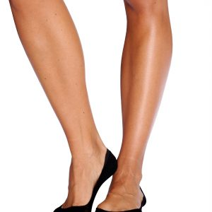 Black Low Hidden Socks for Women
