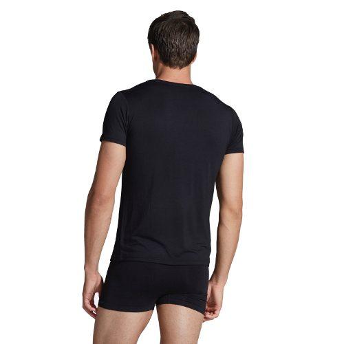 Black Crew Neck Black T-shirt For Men