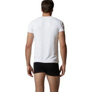 Mens Crew Neck White T-shirt