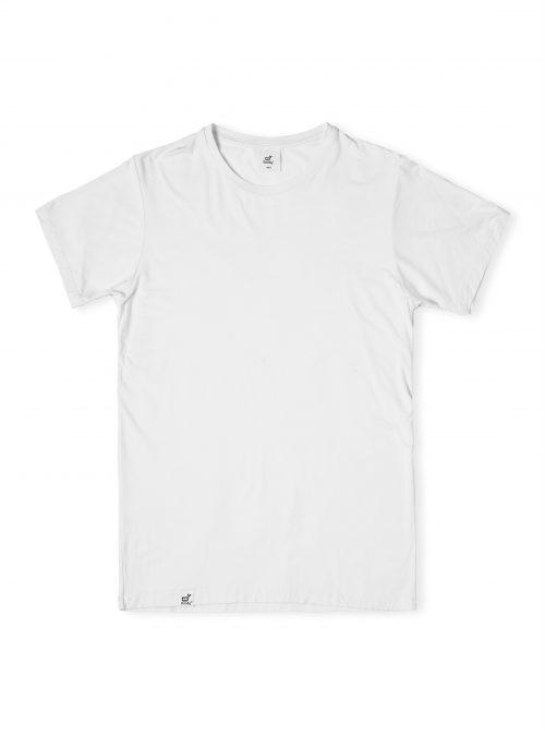 Mens Crew Neck White Tshirt
