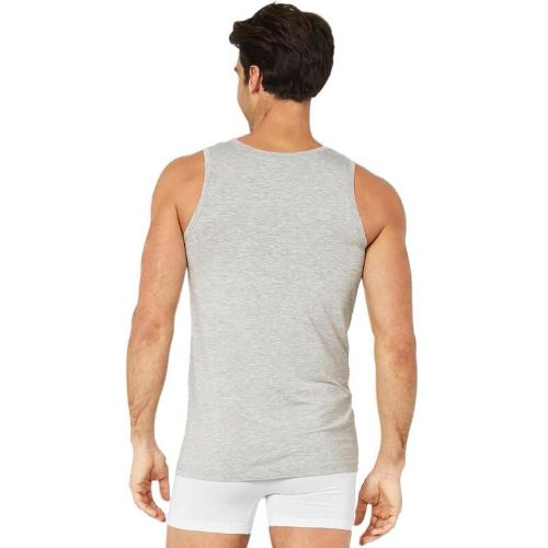 Mens Sleeveless Tank Top Light Marle