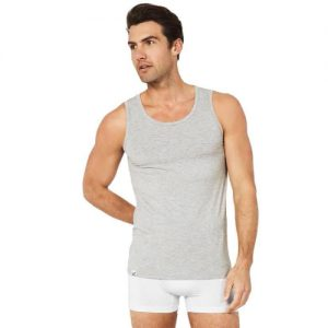 Singlet Man Tank Top Light Marle