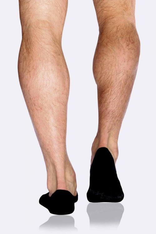 Hidden Black Socks for Men