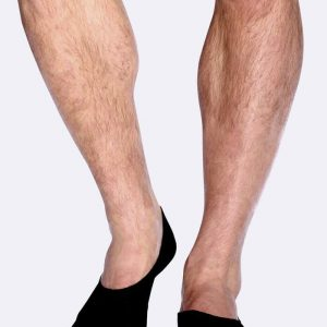 Mens Hidden Black Socks