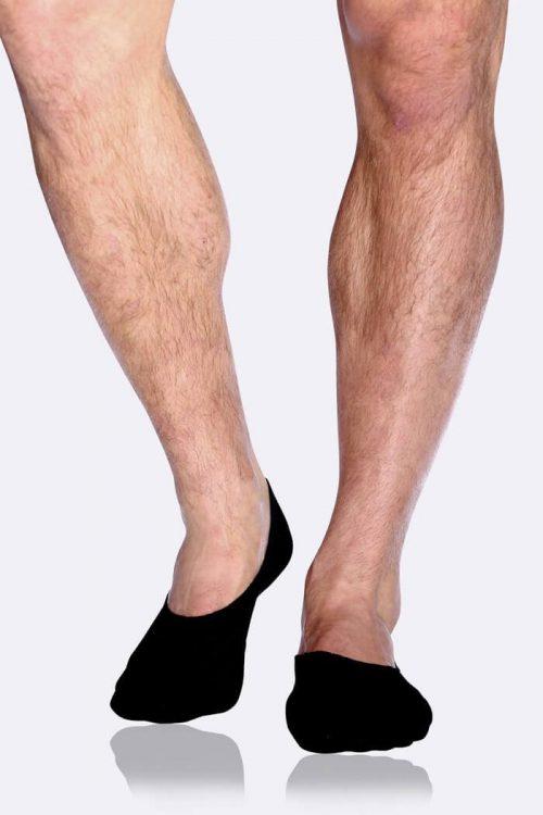 Mens Hidden Black Socks