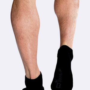 Mens Sport Ankle Socks in Black