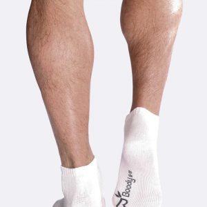 Mens Sport Ankle Socks in White