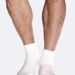 Mens White Sport Ankle Socks