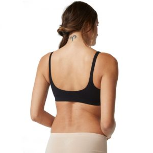 Shaper Crop Bra Black