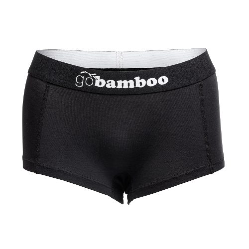 GoBamboo Hipster Black Underwear for Men