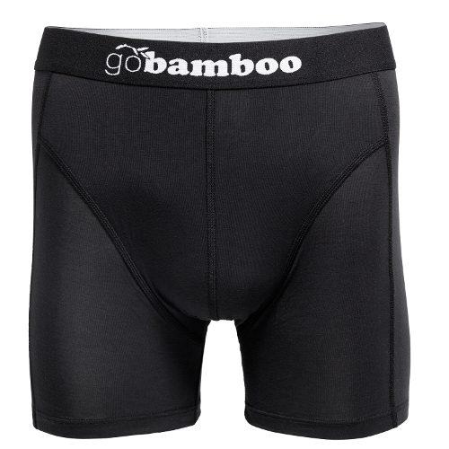 GoBamboo Boxer Black