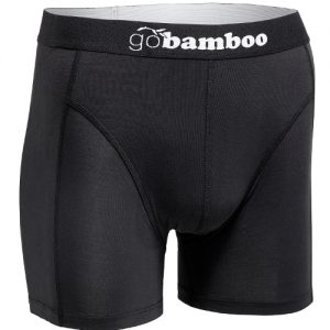 GoBamboo Black Boxer for Men
