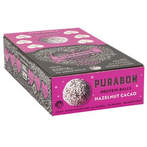All Natural Hazelnut Cacao Protein Ball 43g