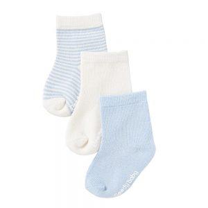 Bloody Baby 3 Pairs of Blue Socks