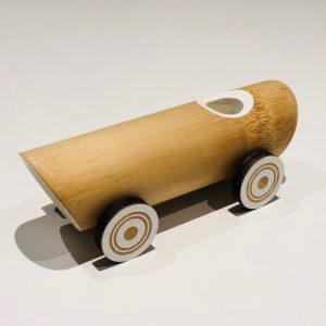 Håndlaget Bambus Vintage Bil leketoy