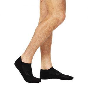 Active Black Socks for men