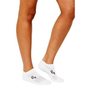 Aktive hvite sokker for kvinner