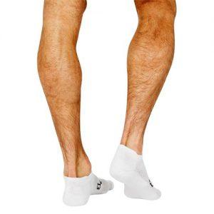 hvit sokk for menn