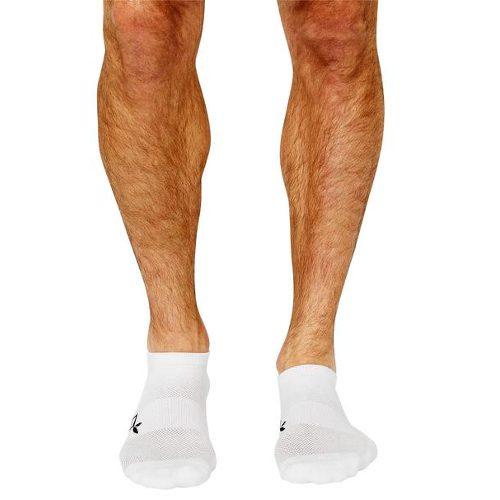 Aktiv hvit sokk for menn