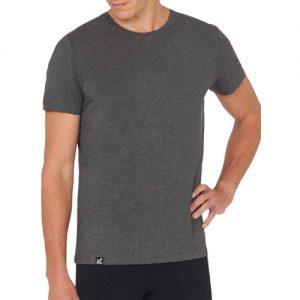 Crew Neck Black T-Shirt for men