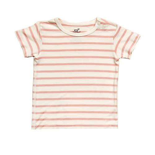 Baby T-Shirt Striper in Pink Colour