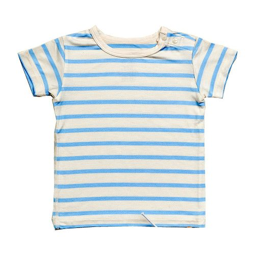 Baby T-Shirt Striper in Blue Colour