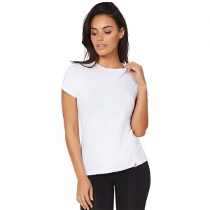 Crew Neck white T-Shirt for women