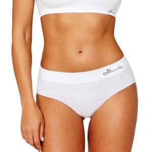 White Midi Brief