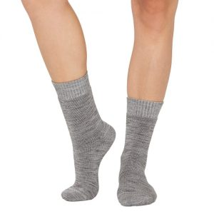 Grey Work Boot Sock Front