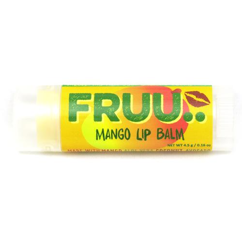 Fruu mango lip balm