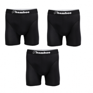 Black Boxers 3 pack