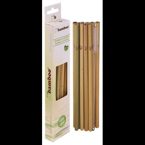 Go Bamboo Sugerør 10 PK
