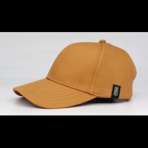 Strålebeskyttende Gul Baseball Caps - fra siden